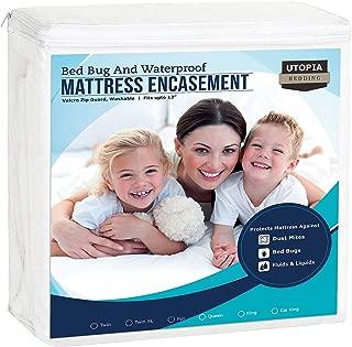 Utopia Bedding Zippered Mattress Encasement - Waterproof Mattress Protector (Twin XL)