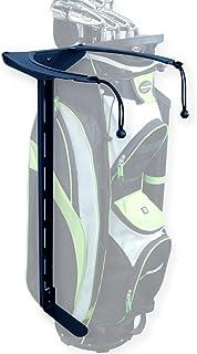 Koova Golf bag Stack Rack- Organis Garage Wall Mounts for Clubs Golf - در هر سبد اندازه یا کیسه ایستاده - نصب و استفاده آسان - نصب و استفاده آسان - باشگاههای شما از طبقه پایین می آید - ساخته شده در ایالات متحده