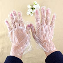 50pcs/Set Eco-Friendly Disposable Gloves One-Off Plastic Gloves for Cake Bake Food Cleaning Cooking Kitchen Garden Accessories