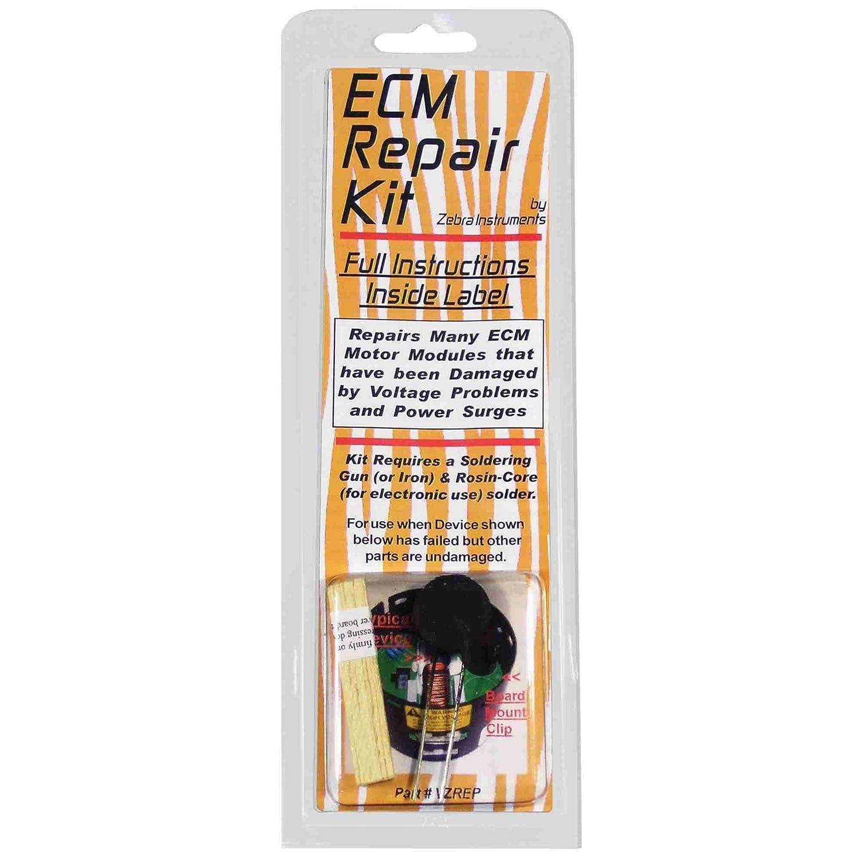 Zebra Spasm price Instruments VZREP Nippon regular agency ECM Variable Kit Speed Motor Repair
