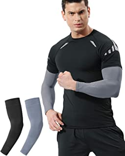 UV Sun Protection Arm Sleeves for Women Men Youth, Cooling, Compression, Arm Warmer, Tattoo Cover Up, UPF 50 - 2 & 4 Pairs