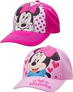 کلاه بیس بال پنبه ای Disney Girls 2 Pack: Minnie Mouse، Fancy Nancy، Vamperina (کودک نوپا / دختران کوچک)