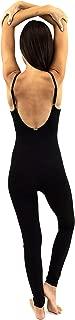 Yoga Bodysuit One Piece Bodysuits Workout Organic Cotton Bra Open Back Jumpsuit for Women Yoga