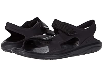 Crocs Swiftwater Expedition Sandal (Black/Black) Women
