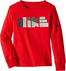 Geo Block Long Sleeve Tee (Toddler)