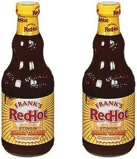 Frank's RedHot Stingin' Honey Garlic Sauce, 12 Ounce (2 Pack)
