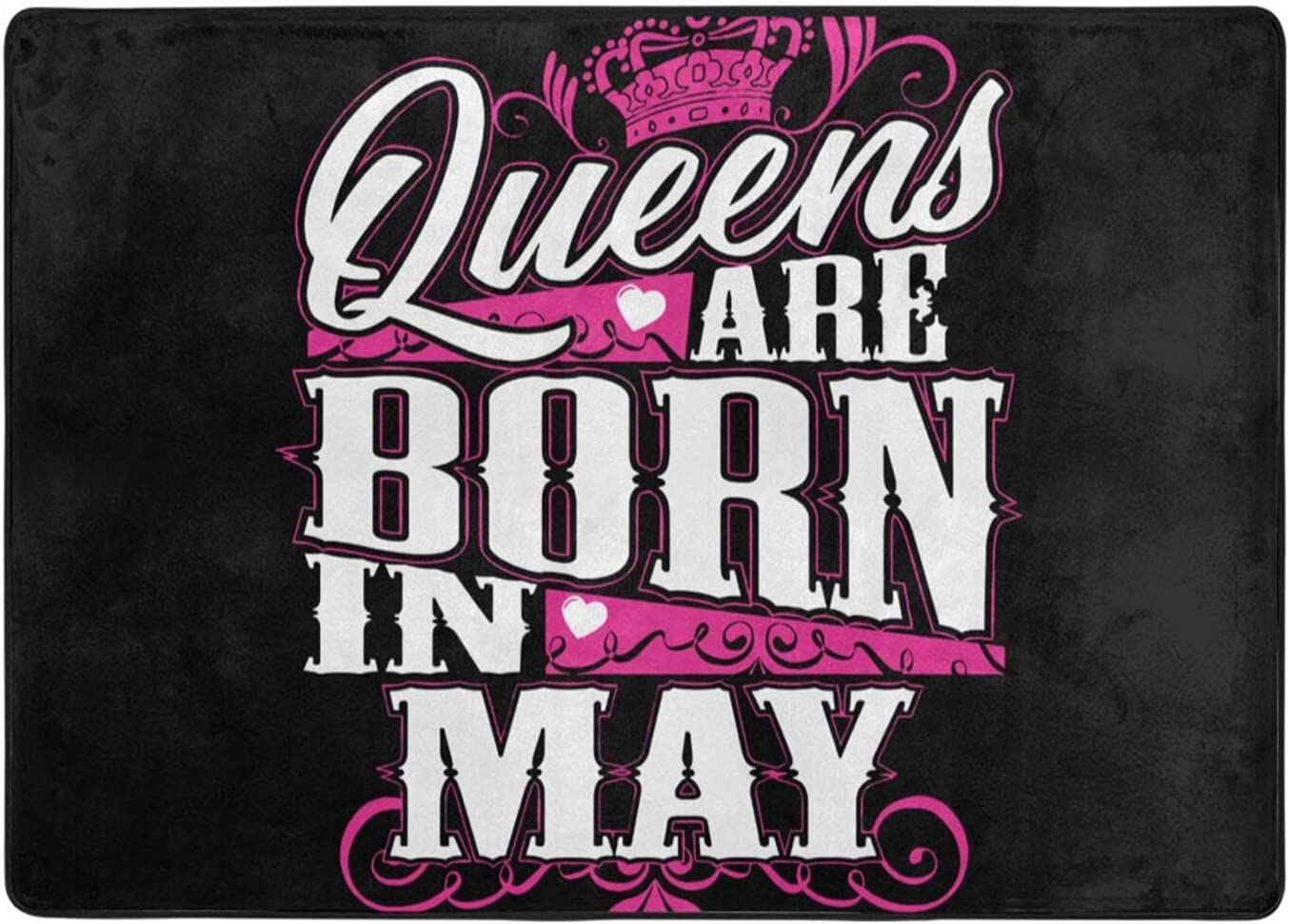 wobzfrok Queens are Born in May Off Novelty 2 Home Sale item Doormat and Dealing full price reduction