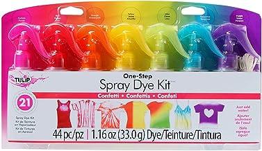 Tulip One-Step Tie-Dye Kit One-Step Spray Kit Fabric Dye, Confetti