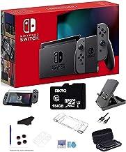 "Newest Nintendo Switch 32GB Console, Gray Joy-Con, 6.2"" Multi-Touch, WiFi, Bluetooth, HDMI, 64GB SD Card and GalliumPi Ult..."