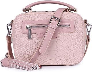 David Jones Bag For Women,Pink - Crossbody Bags