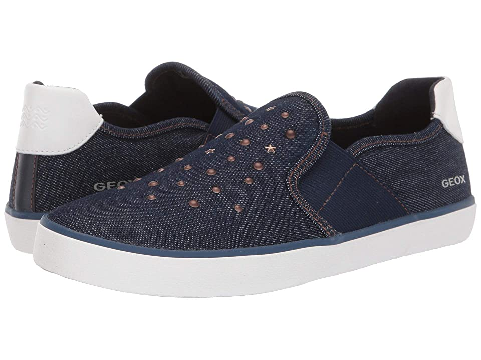 Geox Kids Kilwi Girl 51 (Big Kid) (Navy) Girl