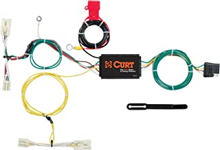 CURT 56275 Vehicle-Side Custom 4-Pin Trailer Wiring Harness for Select Toyota Prius C