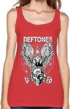 Deftones Gore Tour 2016 Concert Tank Top For Women Red L