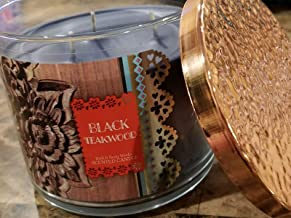 Bath and Body Works 3-Wick Candle Black Teakwood