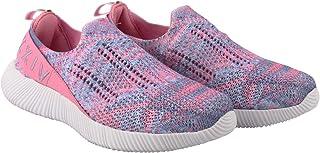 KazarMax XXIV Women's & Girl's Latest Collection, Comfortable Pink-Purple Slipon's Socks SneakersTrainers [WSS001] (Made i...