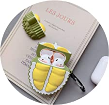 for AirPods Case Cute Lovely Cactus Prickly Pear Earphone Cases for Apple Air pods 2 Cover for Earpods Case Earbuds Ring Strap,366