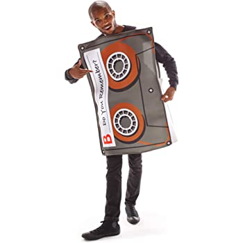 One Size Adult Cassette Tape Player Costume