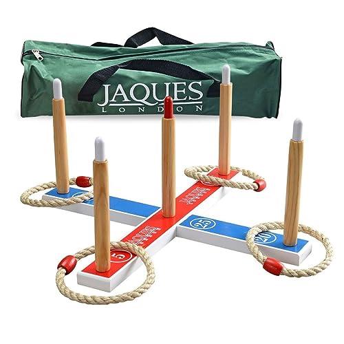 Jaques Quoits - Ensemble Quoits de jardin - Jeux Exterieur Enfant - Parfait pour les jeux Quoits de jardin - Un grand jardin Jouets Jeux de jardin et jouets depuis 1795