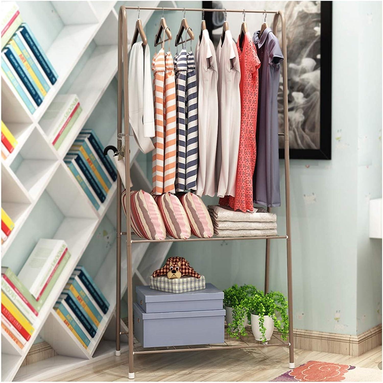 WYQSZ Coat Rack Floor to Ceiling Hanger Clothes Rack Bedroom Metal Creative Simple Modern Hanger - Coat Rack 8563 (color   A)