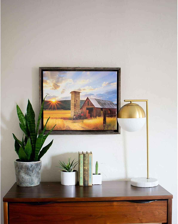 BarnwoodUSA Rustic Barnwood Canvas All stores are sold Regular dealer Frame for Paintings Oil