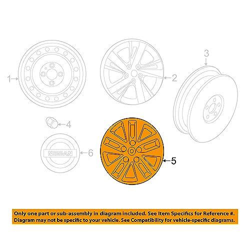 Amazon.com: Genuine Nissan Altima 2013 2014 2015 Hubcap Wheel Cover: Automotive