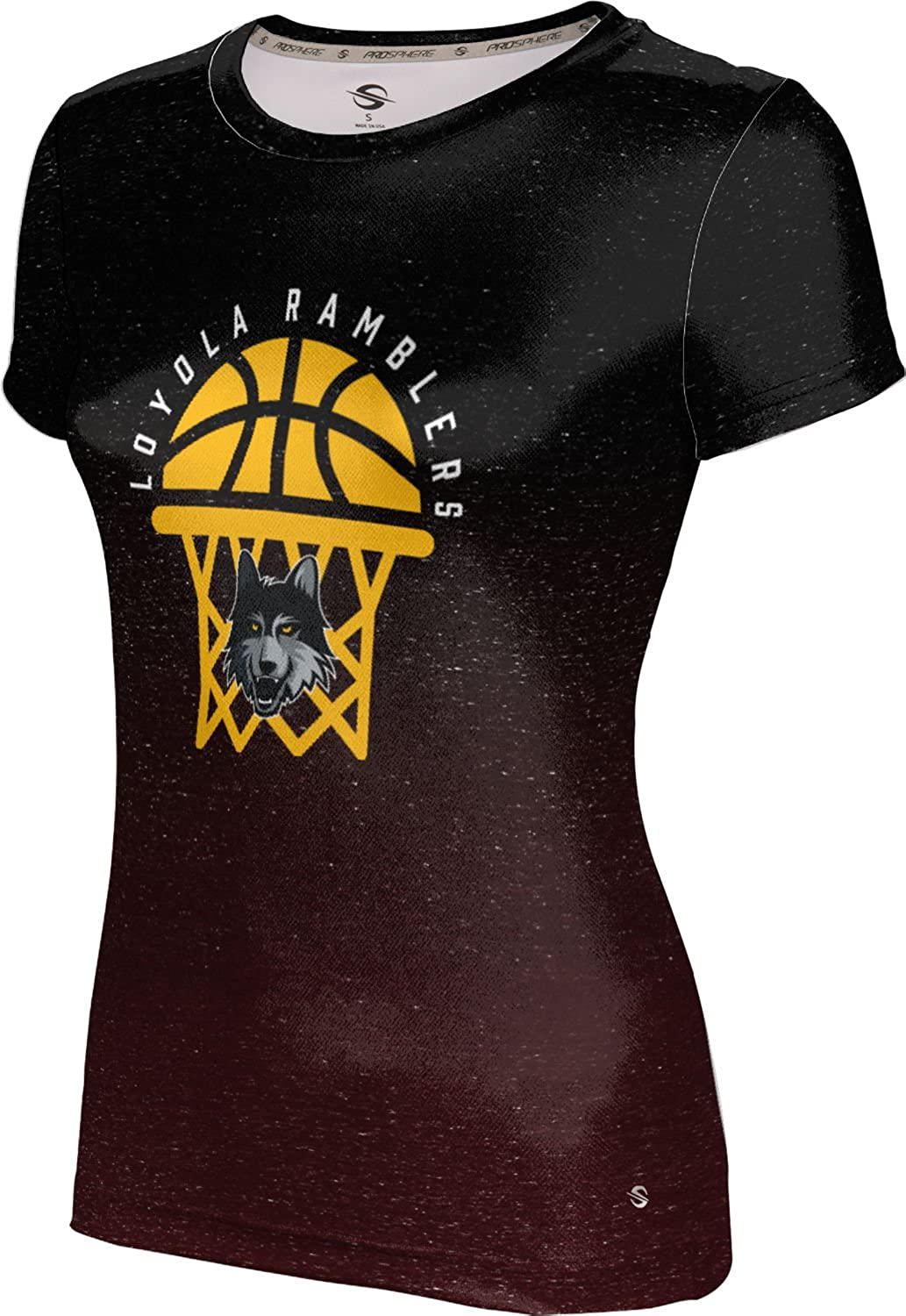 ProSphere Loyola Chicago Basketball Girls' Performance T-Shirt (Ombre)