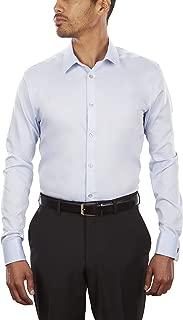 Calvin Klein Custom Men's Dress Shirt Non Iron Solid...