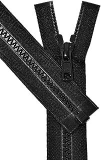 ZipperStop Wholesale Authorized Distributor YKK Vislon Zipper, YKK #5 Molded Plastic Separating Bottom 14