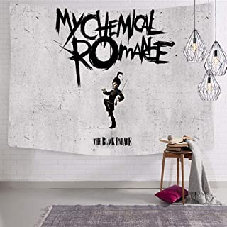 GOEMIX The Black Parade 3D Print Home Decor Colorful Tapestry Wall Hanging for Bedroom Dorm Rooms