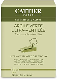 Cattier Vrac Argile Verte Ultra Ventilée 250 g