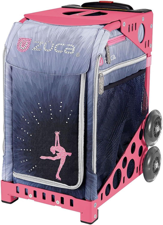 ZUCA Bag icedreamzlux Insert & Pink Frame w Flashing Wheels