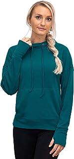 Woolx Callie - Women's Merino Wool Sweatshirt - Midweight Moisture Wicking Base Layer Hoodie