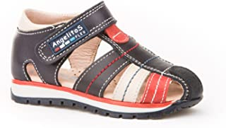Garantia de Calidad. Sandalias Deportivas para Ni/ños Todo Piel mod.449 Calzado Infantil Made in Spain