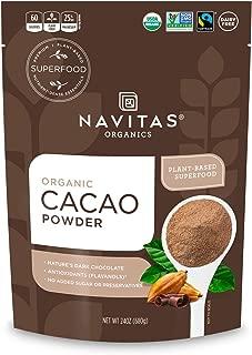 Navitas Organics Cacao Powder, 24 oz. Bag — Organic, Non-GMO, Fair Trade, Gluten-Free