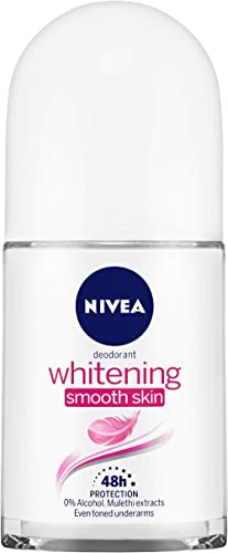 NIVEA Deodorant Roll-on, Whitening Smooth Skin, 50ml product image