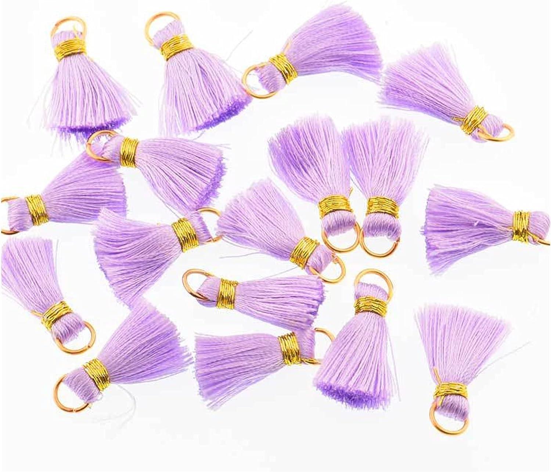 QWXZ Tassel 10pcs lot 2cm Mini New products, world's highest quality popular! Silk Sewing Ta 5% OFF Bang Fringe