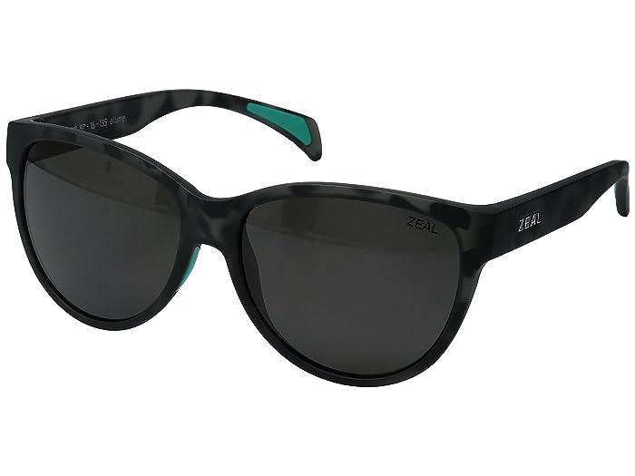 Zeal Optics  Isabelle (Smoke Tortoise with Dark Grey Lens) Sport Sunglasses