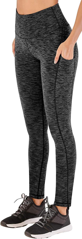 Ewedoos High Waisted Leggings for Women Yoga Pants with Pockets Tummy Control Leggings