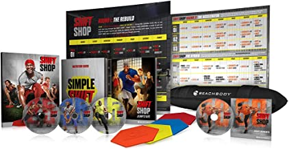 Beachbody Shift Shop - The 3-Week Rapid Rebuild DVD Workout Program - Base + Deluxe Kit