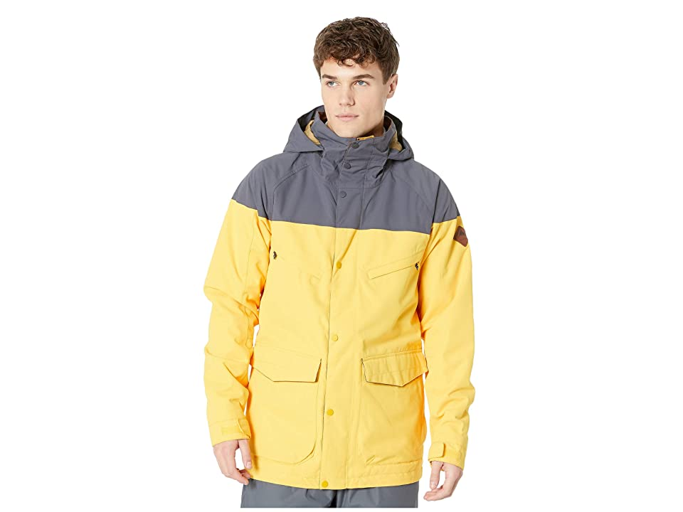 Burton Breach Jacket (Golden Rod/Trocadero) Men