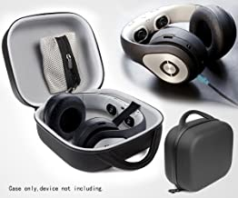 CaseSack Headphone case for Avegant Glyph-Video Headset, AKG Q701, K701, K702, K712, K550; Beyerdynamic DT 770 PRO, DT990, T1, DT880 Pro; Sennheiser HD800, HD700, HD650, HD600; Philips SHP9500