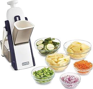 DASH Safe Slice Mandoline Slicer, Julienne + Dicer for Vegetables, Meal Prep & More with 30+ Presets & Thickness Adjuster,...
