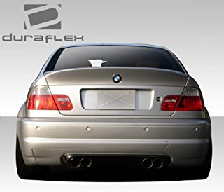 Extreme Dimensions Duraflex Replacement for 2000-2006 BMW 3 Series M3 E46 2DR CSL Look Rear Wing Trunk Lid Spoiler- 1 Piece
