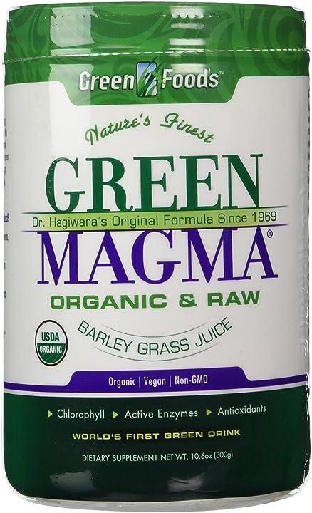 Integratore green magma® - 300 gr polvere green foods 083851204667