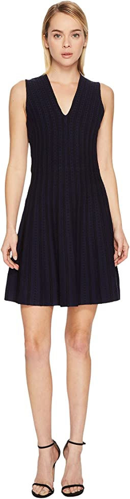 Kate Spade New York - Textured A-Line Sweater Dress