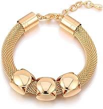Ablaze Jin women jewelry snake chain shamba bracelet diamond popcorn three exaggeration bracelet
