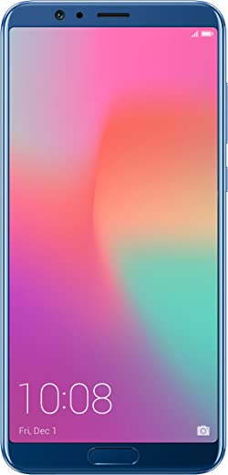 Honor View 10 5.99-Inch Full-View Display Android 8.0 (Oreo) Dual Sim 4G Smartphone (SIM-Free) Dual Camera 20+16MP, Super Charge, 6 GB RAM, UK…