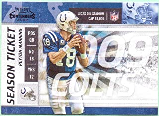 Peyton Manning 2009 Playoff Contenders #44 - Indianapolis Colts