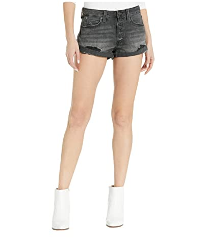 Free People Romeo Rolled Cutoff Shorts (Black) Women