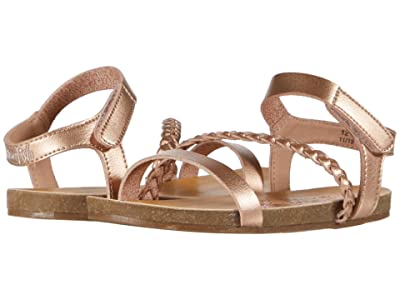 Blowfish Kids Goya T (Toddler/Little Kid) (Pearl Rose Gold Dyecut PU) Girls Shoes
